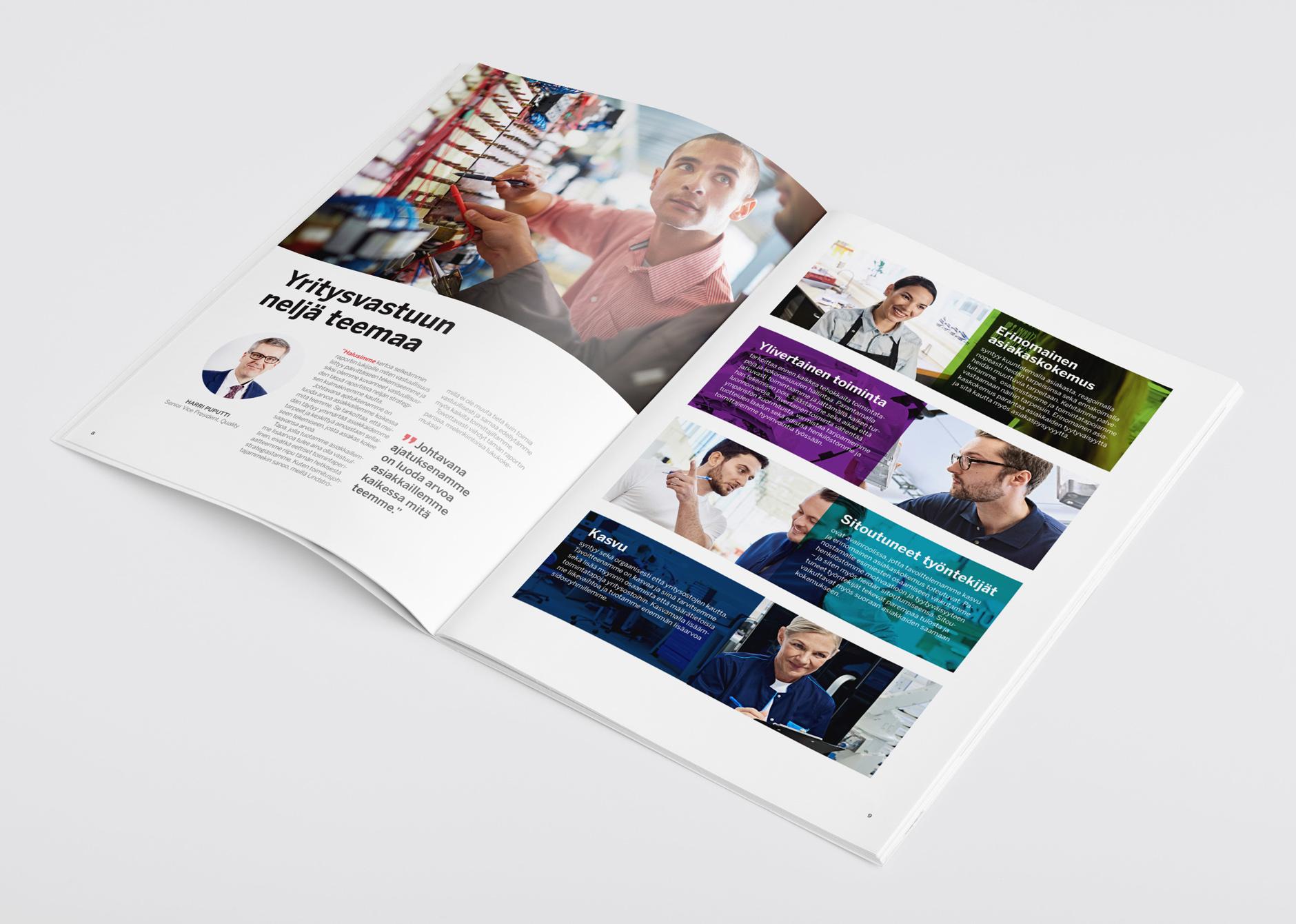 Lindström: Vastuullisuus raportti 2016