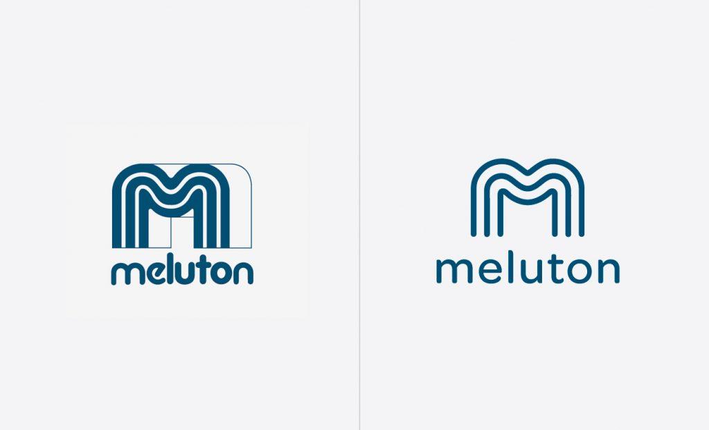 Logouudistus Meluton logo